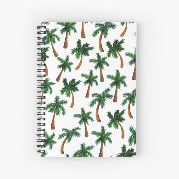 Palm Tree Print Spiral Notebook