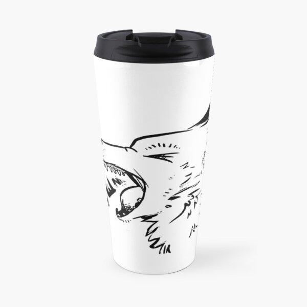 In the Wild - Grey Wolf Travel Mug