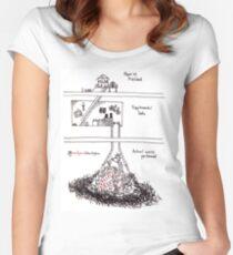 Supplemental Data Women's Fitted Scoop T-Shirt
