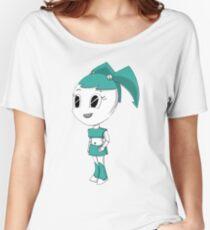 Teenage Robot Chibi Women's Relaxed Fit T-Shirt