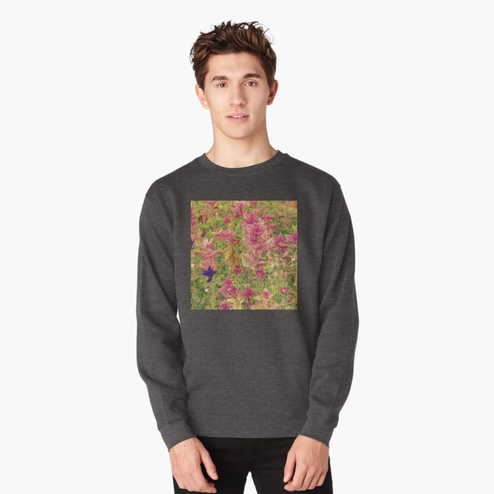 Floral Pullover Sweatshirt