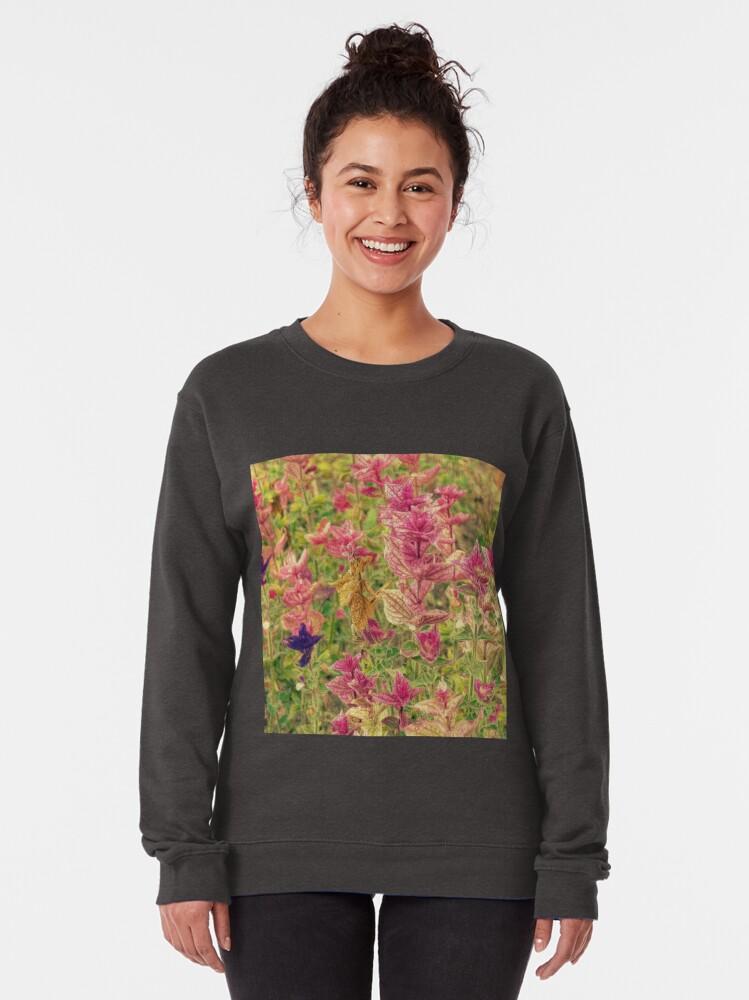 Alternate view of Floral Pullover Sweatshirt