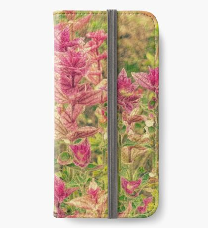 Floral iPhone Wallet