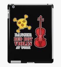 Red Hot Violin iPad Case/Skin