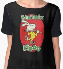 BeaTRIX Kiddo- A Mash Up of Cereal and Revenge Women's Chiffon Top