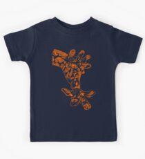 Giraffe Orange Kids Clothes