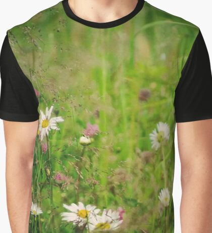 Floral nature Graphic T-Shirt