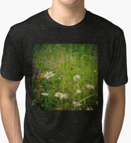 Floral nature Tri-blend T-Shirt