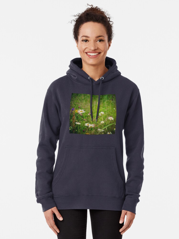 Alternate view of Floral nature Pullover Hoodie