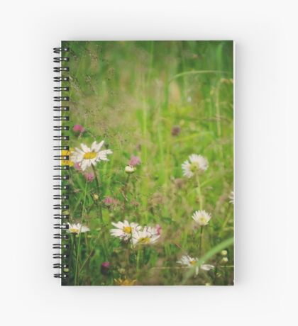 Floral nature Spiral Notebook