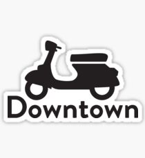 Downtown Sticker