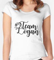 Team Logan - Gilmore Girls Women's Fitted Scoop T-Shirt