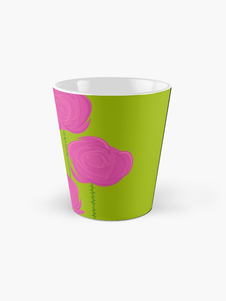 Alternate view of Pink Roses Mug