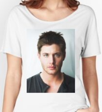 Jensen Ackles Handsome Women's Relaxed Fit T-Shirt