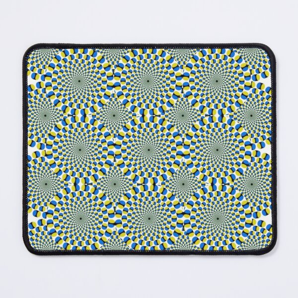 #Optical #Illusion Pattern Abstract Decoration Art Illustration Design Flower  Mouse Pad