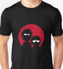 Minimalist Characters - Rick and Morty T-Shirt