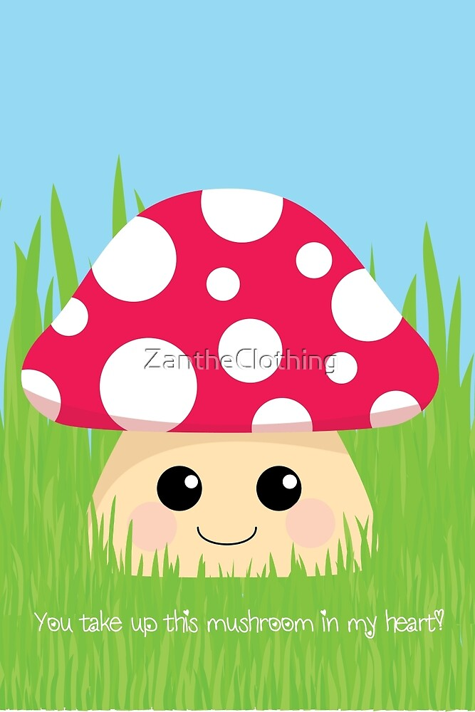 You Take Up This Mushroom by Crystal Potter