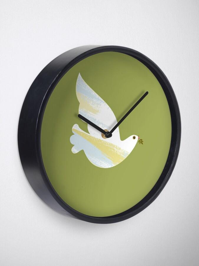 Alternate view of Christmas Dove Clock