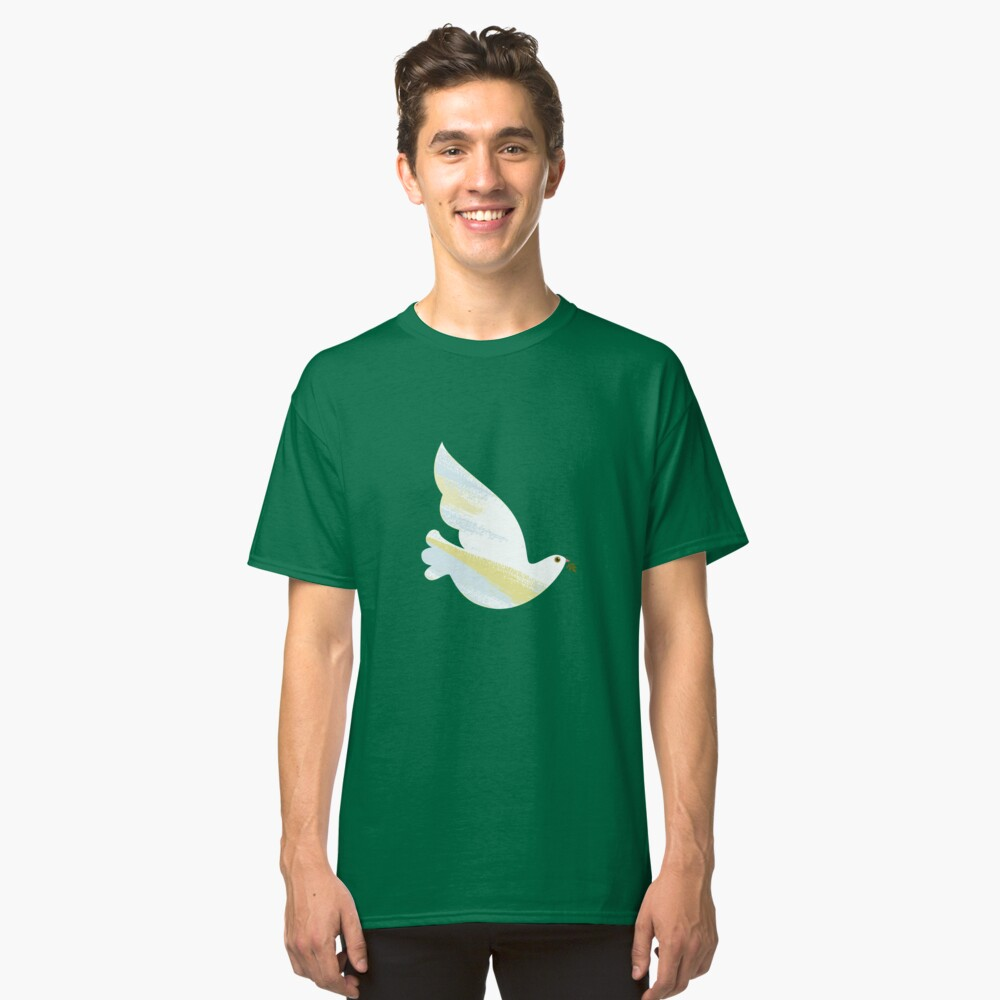 Christmas Dove Classic T-Shirt