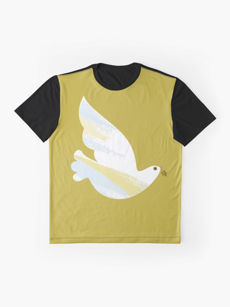 Alternate view of Christmas Dove Graphic T-Shirt