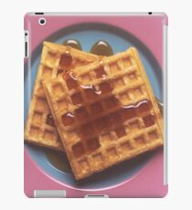 Waffles With Syrup iPad Case/Skin