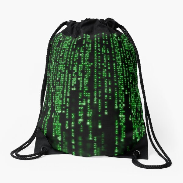 Return To Cyberspace Drawstring Bag