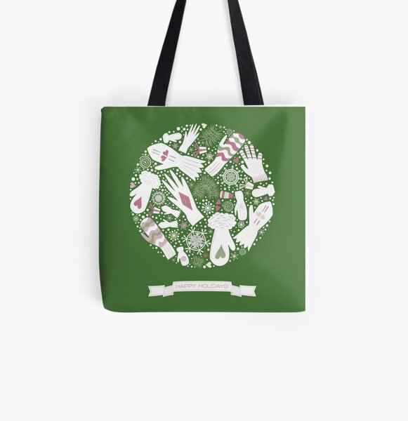 Warm Winter All Over Print Tote Bag
