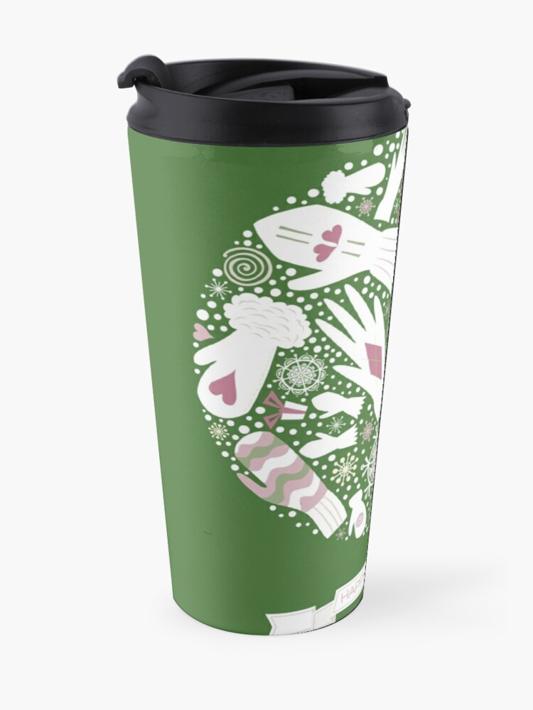 Alternate view of Warm Winter Travel Mug