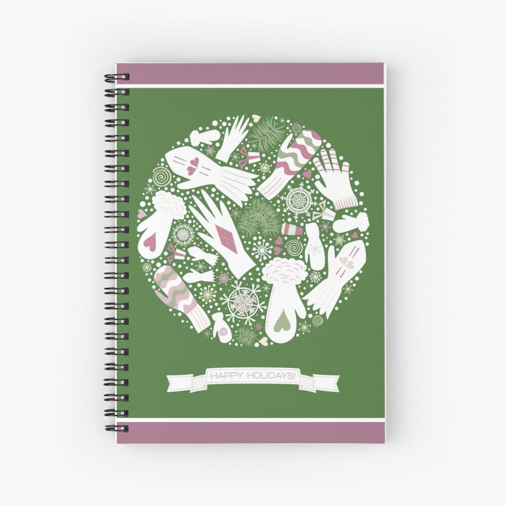 Warm Winter Spiral Notebook