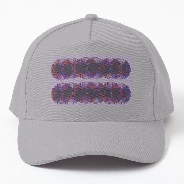 3d lp purple Baseball Cap