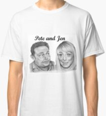 John Thomson and Fay Ripley play Pete and Jen Classic T-Shirt