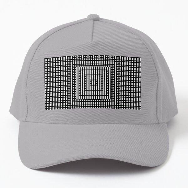 Symmetrical Strips Baseball Cap