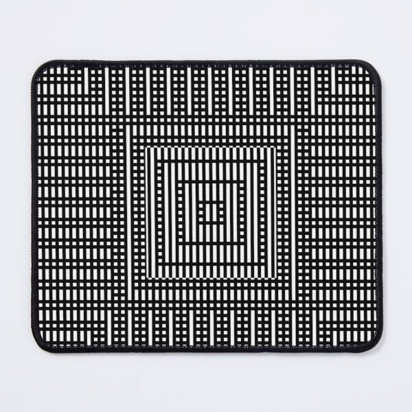 Symmetrical Strips Mouse Pad