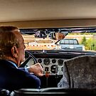 Behind the Wheel of the Duesenberg Model J Rollston Victoria Coupe 1936  by MarcW