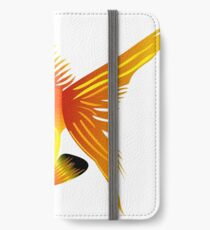Free fish icons print art iPhone Wallet/Case/Skin