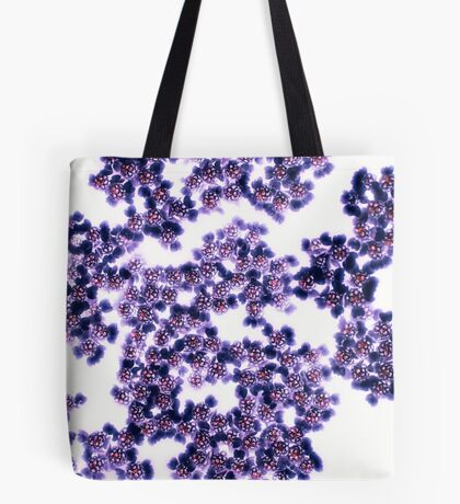 Black Yarrow Tote Bag