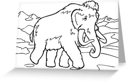 Tarjetas De Felicitación Animal De Dibujos Animados Para Colorear