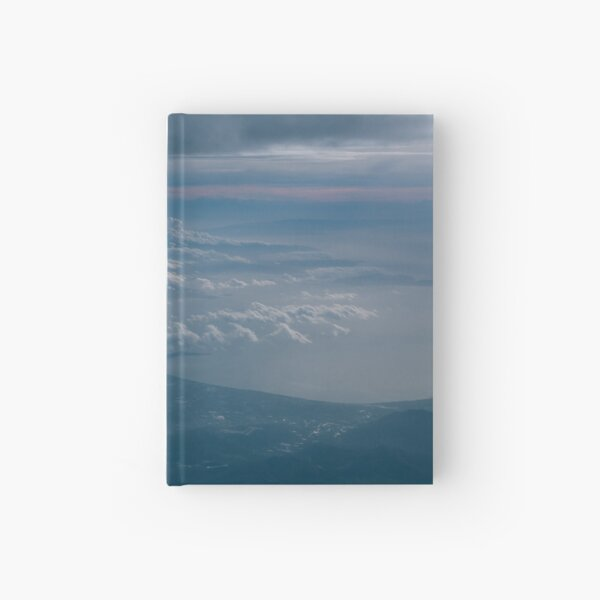 The Skies To Below - Rise Hardcover Journal