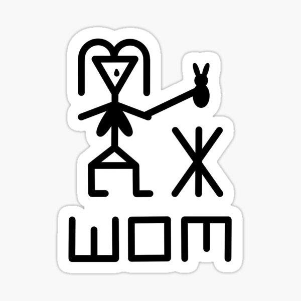 WOM Sticker