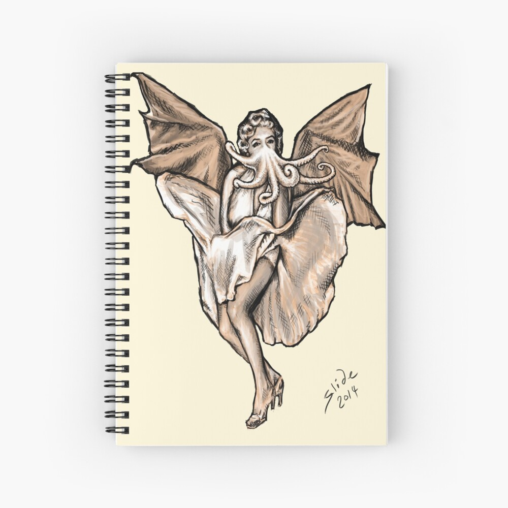 Cthulyn Monroe, 2014 Spiral Notebook