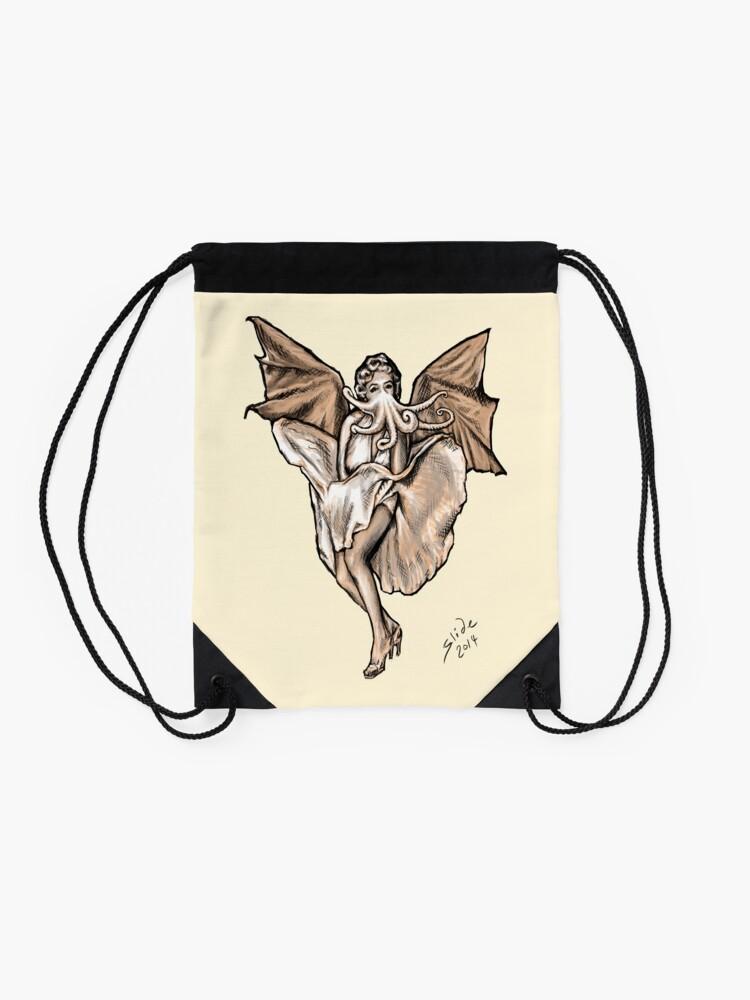 Alternate view of Cthulyn Monroe, 2014 Drawstring Bag