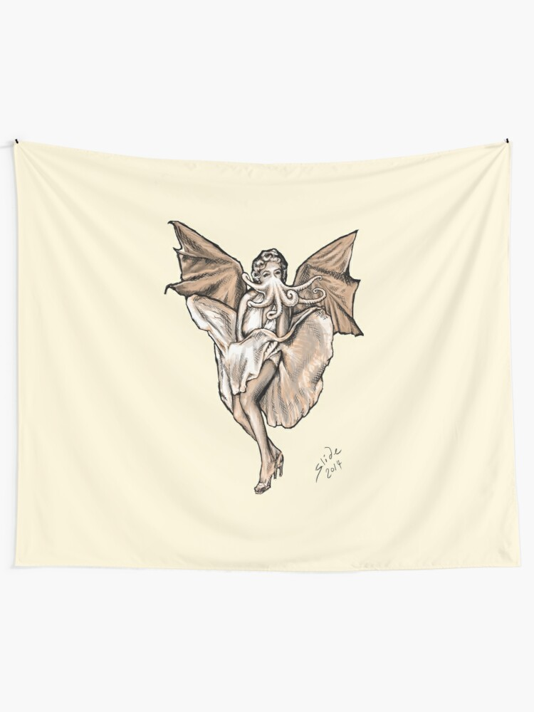 Alternate view of Cthulyn Monroe, 2014 Tapestry