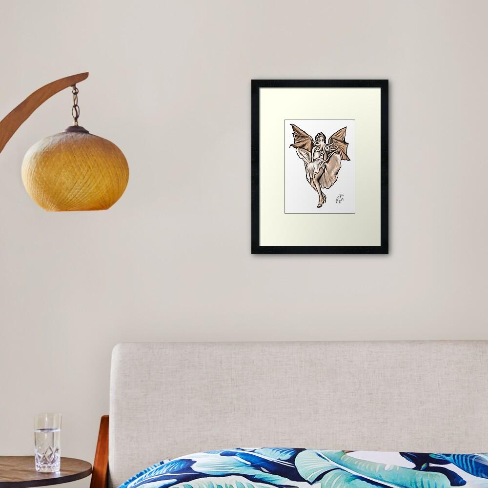 Cthulyn Monroe, 2014 Framed Art Print