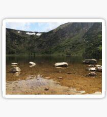 Ginger Lake - Travel Photography Sticker