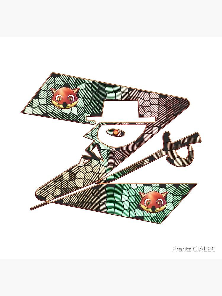 In the name of Zorro - Zorro is cheeky like a fox - Z like Zorro with his famous sword! by Ralek
