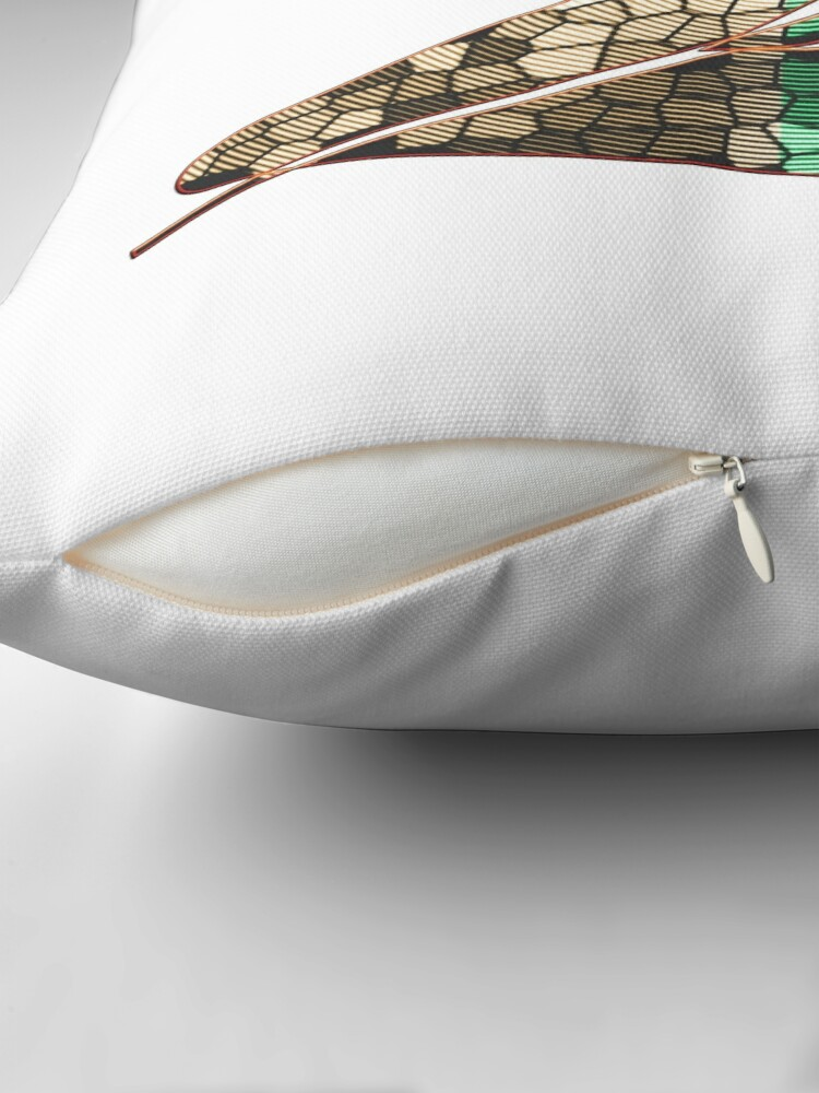 Alternate view of  In the name of Zorro - Zorro is cheeky like a fox - Z like Zorro with his famous sword! Floor Pillow