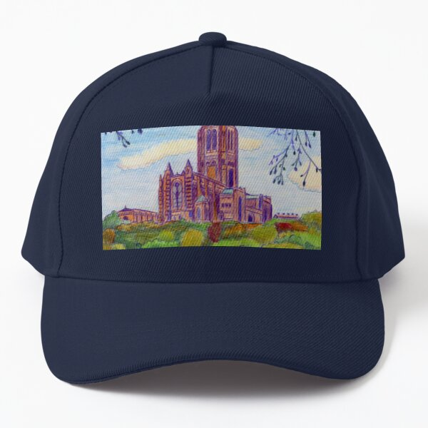 583 - LIVERPOOL ANGLICAN CATHEDRAL - DAVE EDWARDS - COLOURED PENCILS - 2021 Baseball Cap