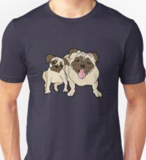 Daddy Pug Unisex T-Shirt