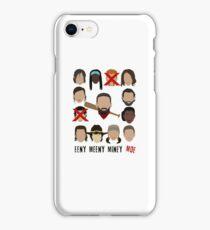 Negan - Eeny Meeny Miney Moe iPhone Case/Skin