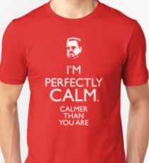 Walter The big Lebowski Calm Unisex T-Shirt